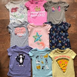 Girls 2t Shirt Lot